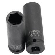 Kraftwerk Metrischer Kraftsteckschlüssel-Einsata 1/2 inch 17 mm