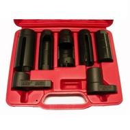 Automotive tools 7-teiliger Satz der Steckschlüssel für Lambdasonden.