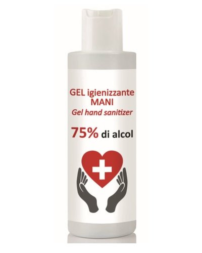 Disinfectant hand gel 75% alcohol
