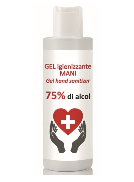 Disinfectant hand gel 75% alcohol 100ml