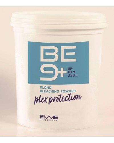BE9 + Blond bleaching powder PLEX Protection