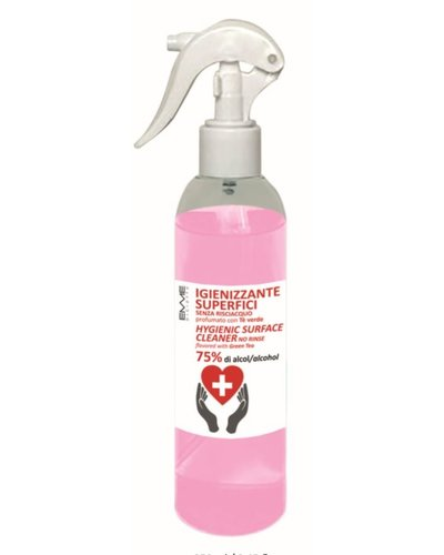 Disinfection spray with green tea and 75% alcohol 250ml
