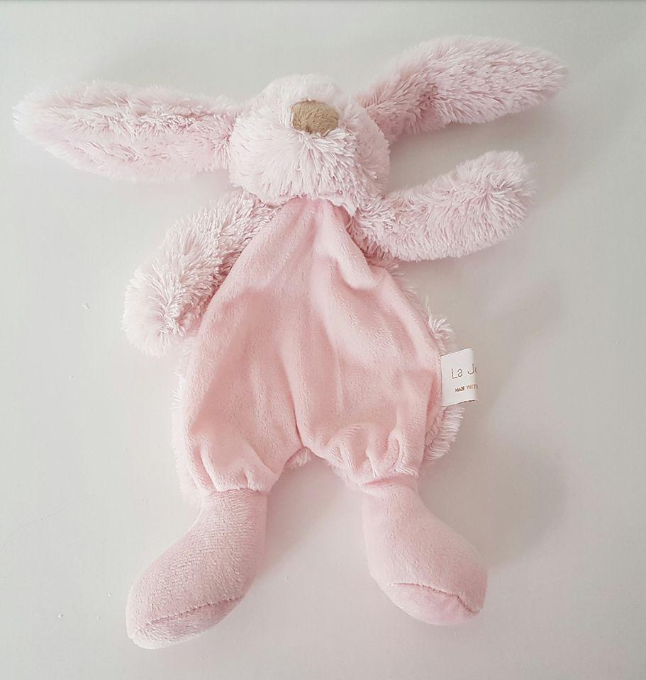 La Jolie Knuffelkonijn Philou - met naam roze