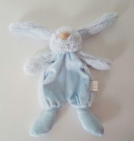 La Jolie Knuffelkonijn Philou - met naam blauw