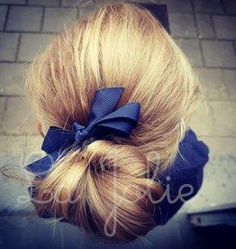Siena Strik met speldje donker blauw