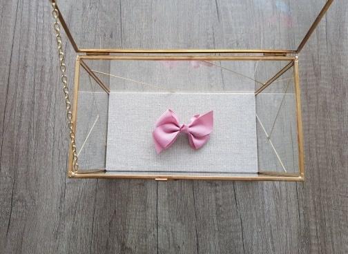 Siena Strik met knoop - Oud roze