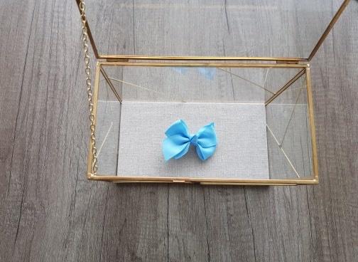 Siena Strik met knoop - Licht blauw