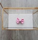 Siena Strikje - Oud roze