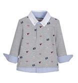 Lapin House Jongens grijze polo shirt