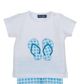 La Jolie Zwem t shirt met  zwemshort voor jongens