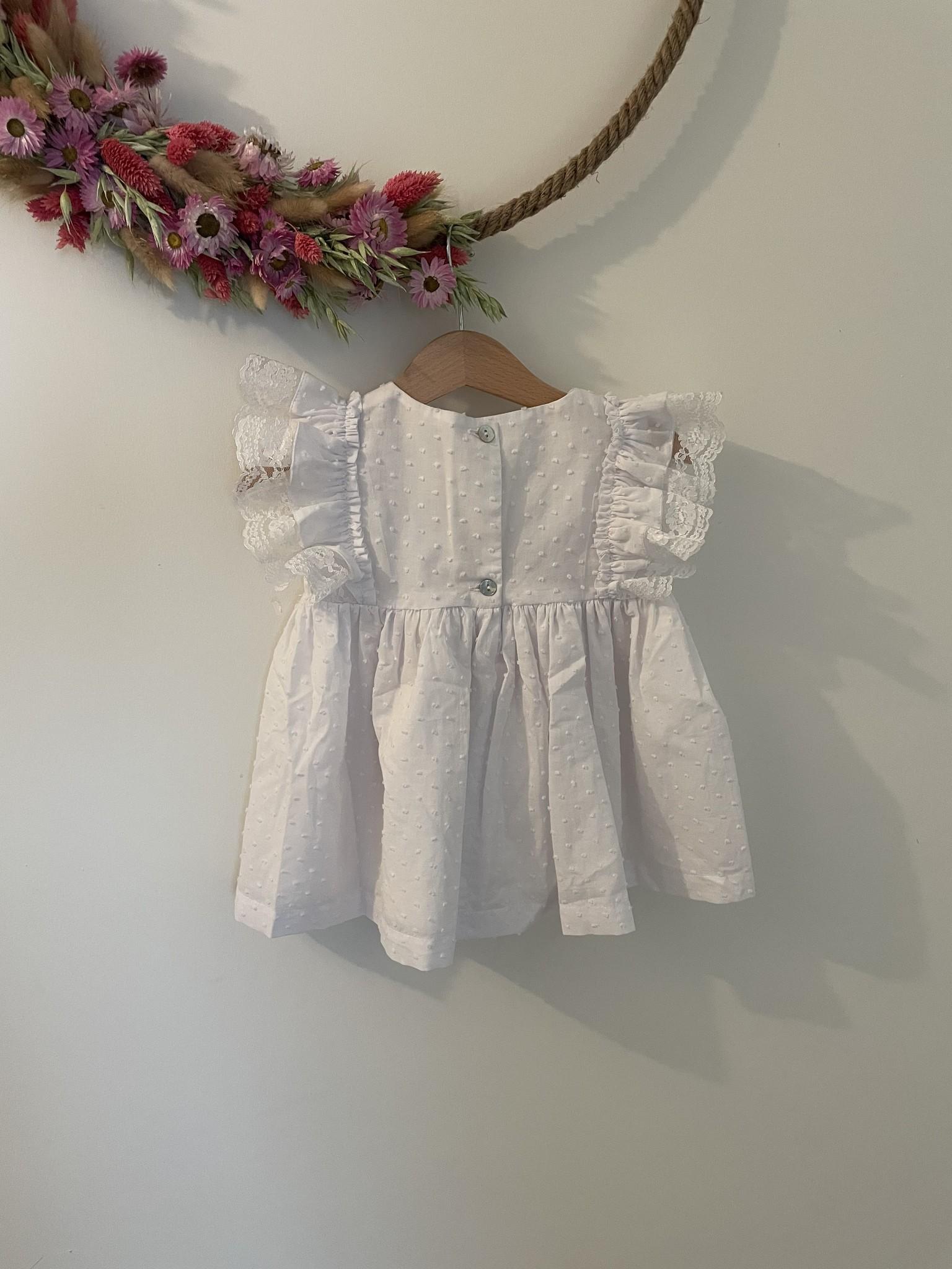 Wit kleedje