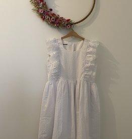 Wit kleedje voor de mama's