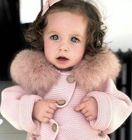 vest met pels roze