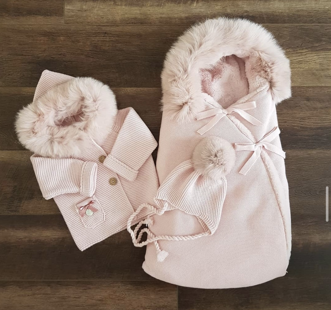 Roze voetzak