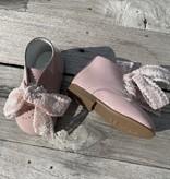 roze lak schoentjes