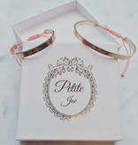 Petite Jae Armband Mommy and me Rosé goud + coral