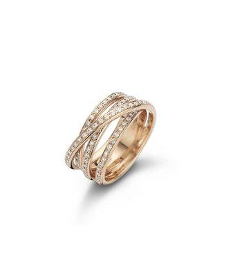 Noor Ring Creative 4 banen pavé 15183-000-R7