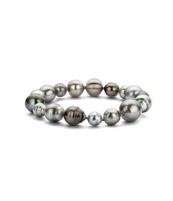 Schaap en Citroen Parel Armband Pearls matte sluiting 5-21450-01