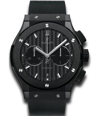 Hublot Horloge Classic Fusion 45mm Black Magic Chronograph 521.CM.1771.RX