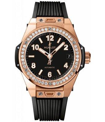 Hublot Horloge Big Bang 39mm One Click King Gold Pave 465.OX.1180.RX.1604