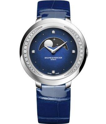 Baume & Mercier Horloge Promesse 34mm Phases de Lune M0A10347
