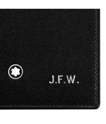 Montblanc MST Wallet 4cc View Pocket Black 2664