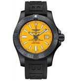 Breitling Horloge Avenger II 45mm Seawolf Blacksteel M17331E2/I530