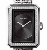 CHANEL Premiere Boyfriend Tweed - alligatorleer [H4877]