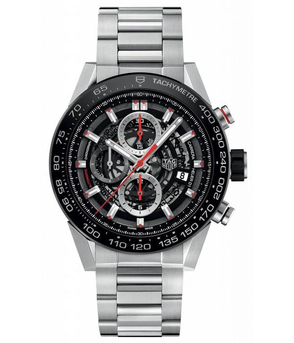 Tag Heuer Calibre chronograph 45mm  (CAR2A1W.BA0703)