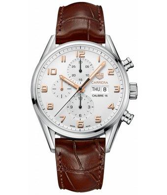TAG Heuer Horloge Carrera 43mm Calibre 16 Chronograph CV2A1AC.FC6380