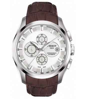 Tissot Horloge T-Classic 43mm Couturier T035.627.16.031.00
