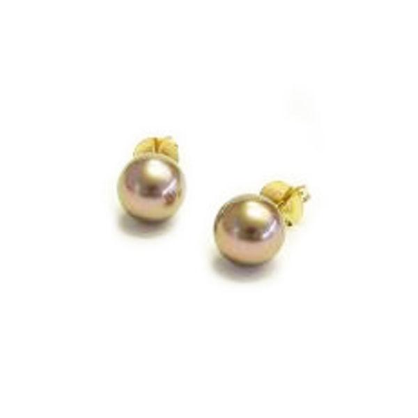 Pearls Oorknoppen Tahiti