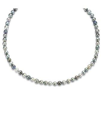 Schaap en Citroen Parel Collier Pearls met sluiting 525.0015