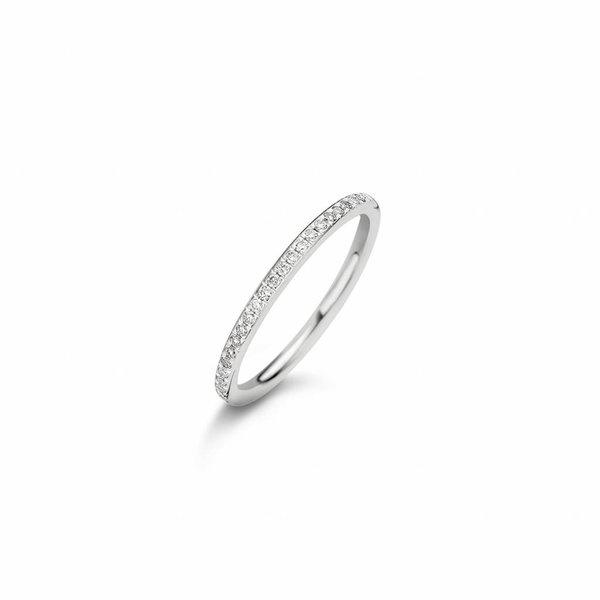 Diamonds aanschuif ring