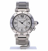 Pre-owned Cartier Pasha Seatimer