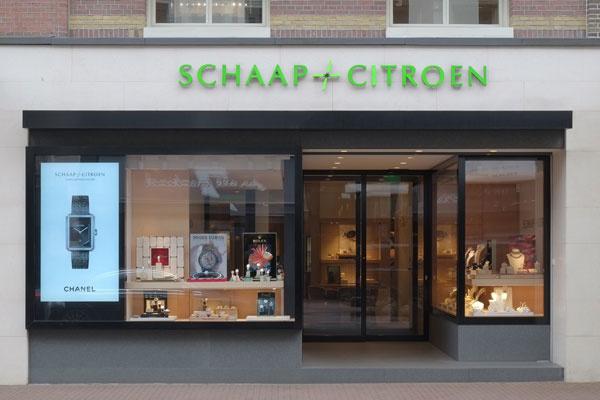 Schaap en Citroen juwelier Amsterdam | gevel juweliershuis