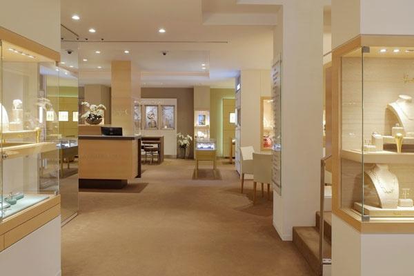 Schaap en Citroen juwelier Amsterdam | binnenkant juweliershuis