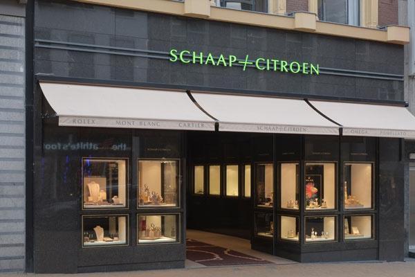 Schaap en Citroen juwelier | gevel juweliershuis