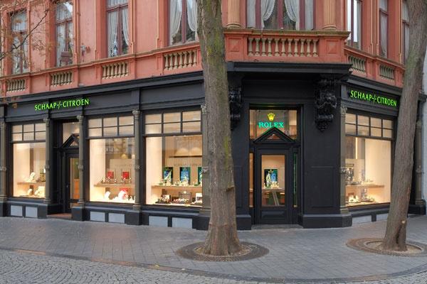 Schaap en Citroen juwelier Maastricht | gevel juweliershuis