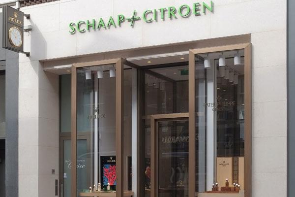 Amsterdam Patek Philippe Espace Schaap en Citroen | gevel juweliershuis