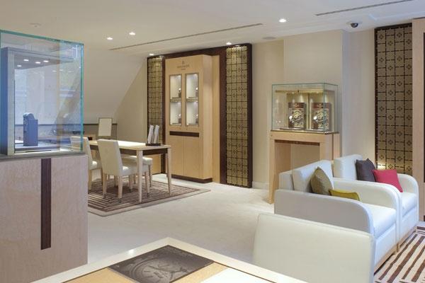 Amsterdam Patek Phillipe Espace Schaap en Citroen | binnenkant juweliershuis