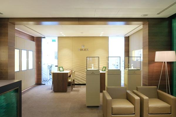 Rolex Boutique Schaap en Citroen | inside jewellery store