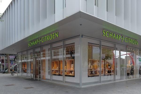 Schaap en Citroen juweliers Rotterdam | front jewellery store