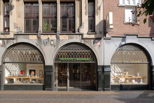 Schaap en Citroen jeweller Utrecht | front jewellery store