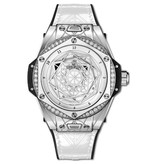 Hublot Horloge Big Bang 39mm Sang Bleu One Click Steel White 465.SS.2027.VR.1204.MXM19