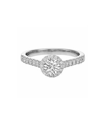 Royal Asscher 74 Collection pave R.74.3238.RAB.18WG.3  GIA