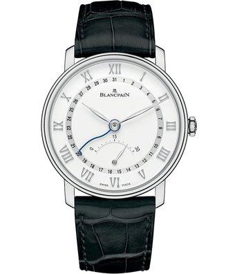 Blancpain Horloge Villeret 40mm Ultra Slim Retrograde 6653Q-1127-55B