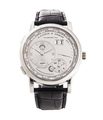 A. Lange & Söhne Horloge Lange 1 42mm Time Zone 116.025G