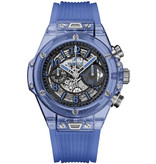 Hublot Horloge Big Bang Unico 45mm Blue Sapphire Chronograph 411.JL.4809.RT.1901