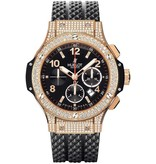 Hublot Horloge Big Bang 45mm Chronograph Gold Pave 301.PX.130.RX.174